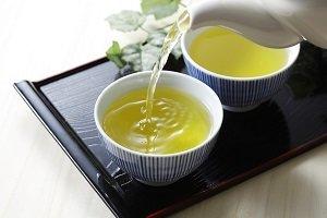 Grüner Tee und Weisser Tee