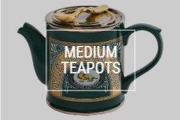 Mittelgroße Teekannen
