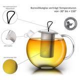 Creano Teekanne Jumbo 2,0 Liter mit Metallfilter_