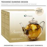 Creano Teekanne Doppelwandig Diamond 0,8 Liter_