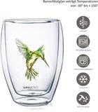Creano Doppelwandiges Glass Hummi Grün 0,25 Liter_
