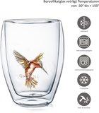 Creano Doppelwandiges Glass Hummi Rot 0,25 Liter_