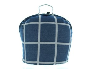 Teewärmer mit Verschluss: Dedicate Bruxelles Blue Muster