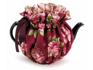 Thistledown Teewärmer Burgundy Rose 4 Tassen