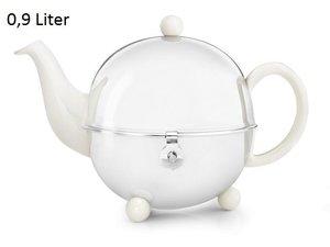 Cosy® Teekanne  Weiss 0,9L