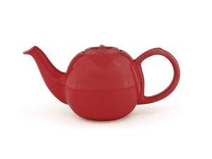 Bredemeijer Silhouet Cosette Teekanne 0,6 Liter Rot
