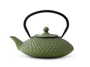 Gusseisen Teekanne 1,25 Ltr: Xilin - Grün