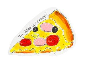 Blond Amsterdam 3D Snack Teller Pizza