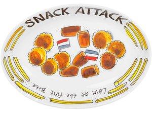 Blond Amsterdam Schale Oval Snack 28,5 cm
