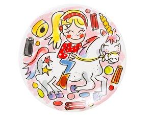 Blond Amsterdam Unicorn Teller 18 CM