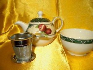 Edelstahl Filter - tea for one