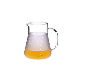 Trendglas Glaskanne 1,0 Liter, satiniert