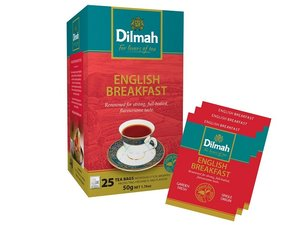 Dilmah English Breakfast Tea 25 Teebeutel (50 Gramm)