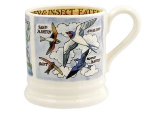 Emma Bridgewater Becher 2,8 dl Kingfisher & Insect Eaters