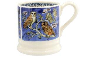 Emma Bridgewater Becher 2,8 dl Owls Woodpeckers