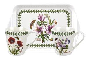 Portmeirion - Botanic Garden Becher und Tablett Set