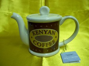 Kenyan Coffee, One Cup Teapot