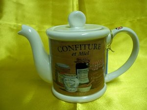 Confiture, One Cup Teapot