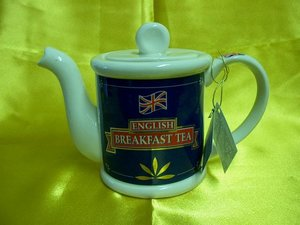 English Breakfast Tea, One Cup Teapot