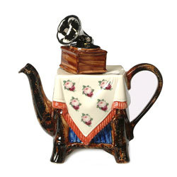 Grammophone, One Cup Teapot