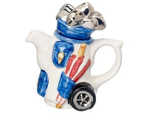 Golfbag, One Cup Teapot