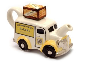 Bakers Van, One Cup Teapot