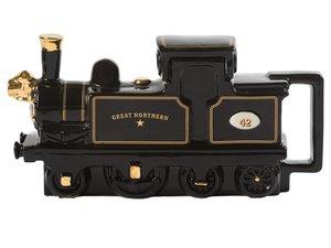 Dampflokomotive Teekanne