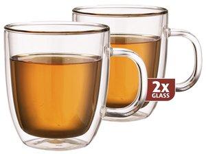 Thermo-Glas Set von zwei: Extra Tea 480 ml