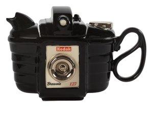 Kamera Schwarz Teekanne