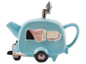Caravan Blaue Teekanne