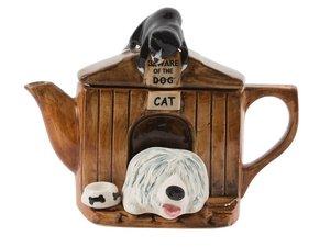 Das Kennel Schafshund Teekanne