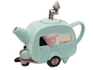 Caravan Grüne Teekanne
