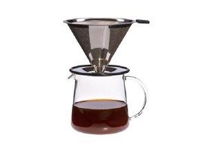 Trendglas Filterkaffee für Zwei