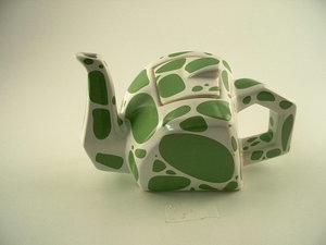 Art4 Frosch Teekanne