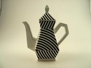 Art4 Streifen Teekanne