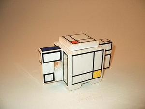 Art4 Mondriaan Zuckerdose