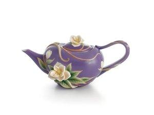 Franz Southern Charm Magnolia teapot