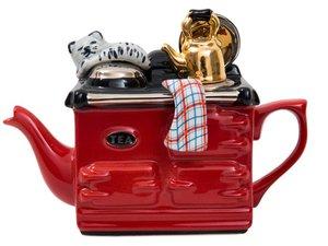 Aga, eine Tasse Teekanne, Rot
