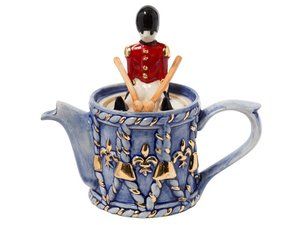 Drum Teekanne für eine Tasse
