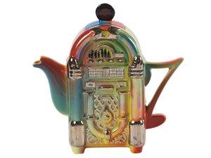Jukebox Teekanne für eine Tasse