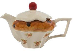 Cake Teekanne für eine Tasse