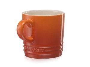 Le Creuset Cappccino Becher 200 ML Orange