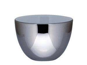 Bredemeijer Lotus Ceramic Tassen, Set von 2, Zilber