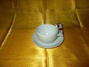 Duke Gold Quadrant Tasse & Untertasse