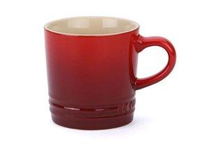 Le Creuset Cappccino Becher 200 ML Cherry Red