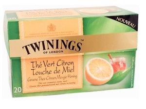 Twinings Grüner Tee Zitrone mit  Honig 20 Teebeutel (je 32 Gramm)