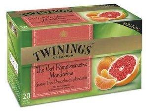 Twinings Grüner Tee Grapefruit & Mandarine 20 Teebeutel (je 32 gram)