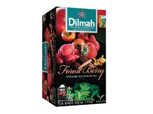 Dilmah Forest Berry Tea 20 Teebeutel (40 Gramm)