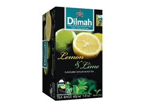 Dilmah Lemon Lime Tea 20 Teebeutel (40 Gramm)