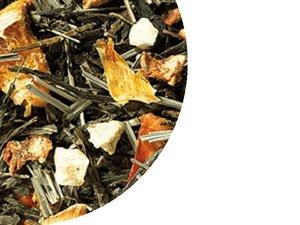 Grüner Tee Sencha Orange - Maracuja 100 Gramm